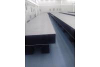 定制无缝自水平精密隔振平台拼接光学平台16米*1.5米